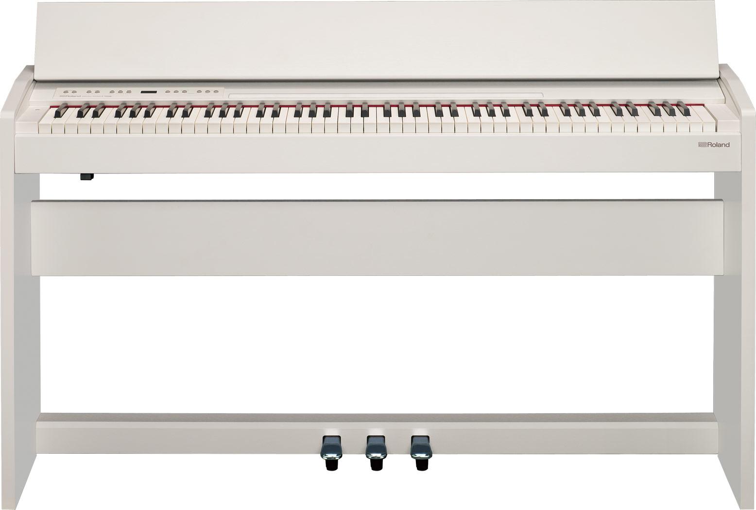 Roland - F-140R-WH piano numérique blanc mat