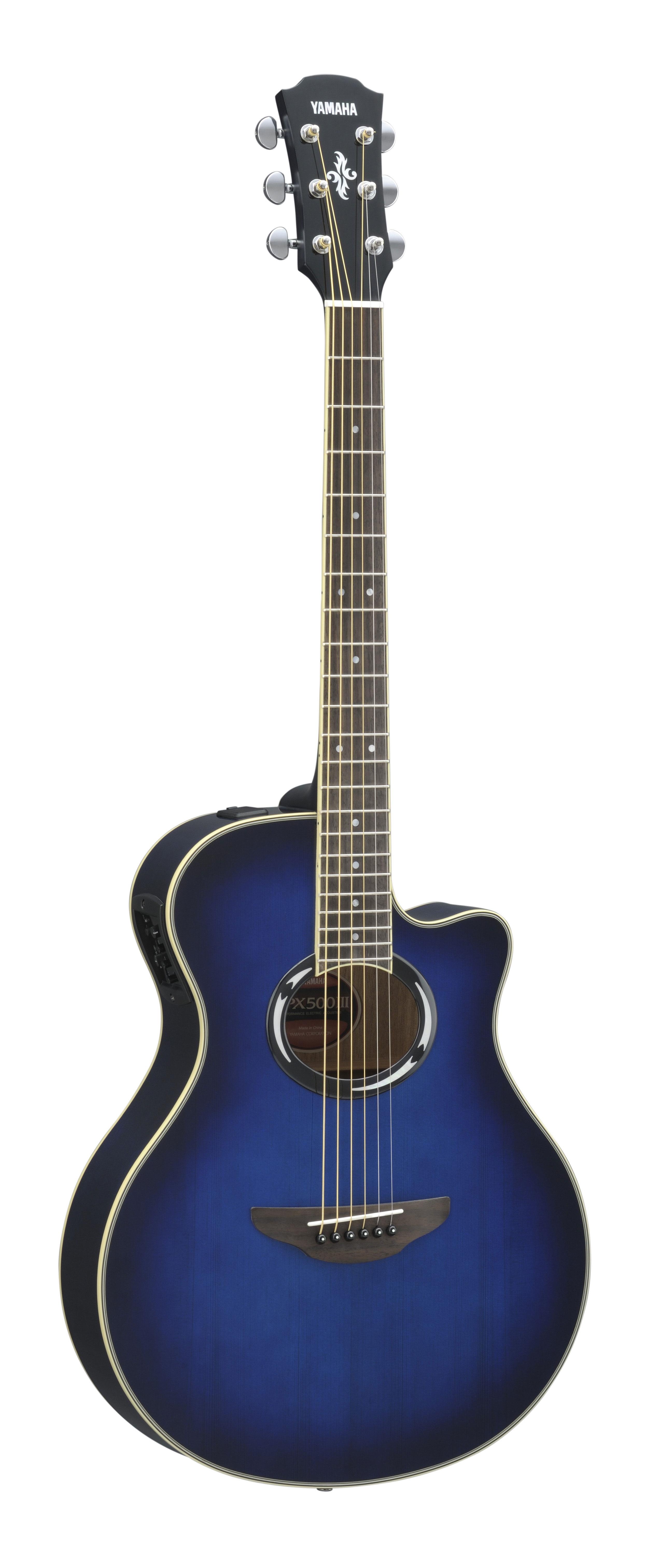 Yamaha - APX500III OBB - Oriental Blue Burst