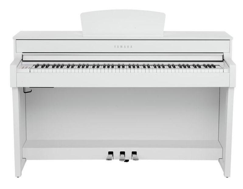 Yamaha - CLP-635 Piano 88 touches Blanc mat
