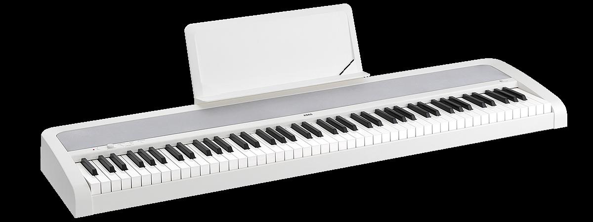 Korg - B1 Blanc Piano numérique portable