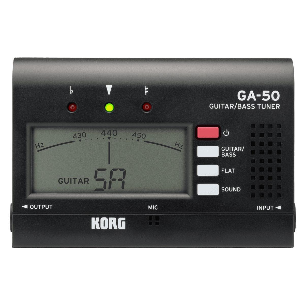 Korg - Accordeur chromatique - GA-50
