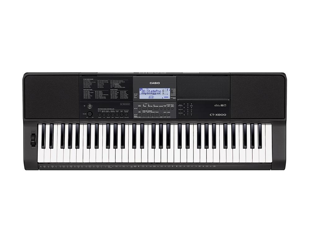 Casio - Clavier CT-X800  noir