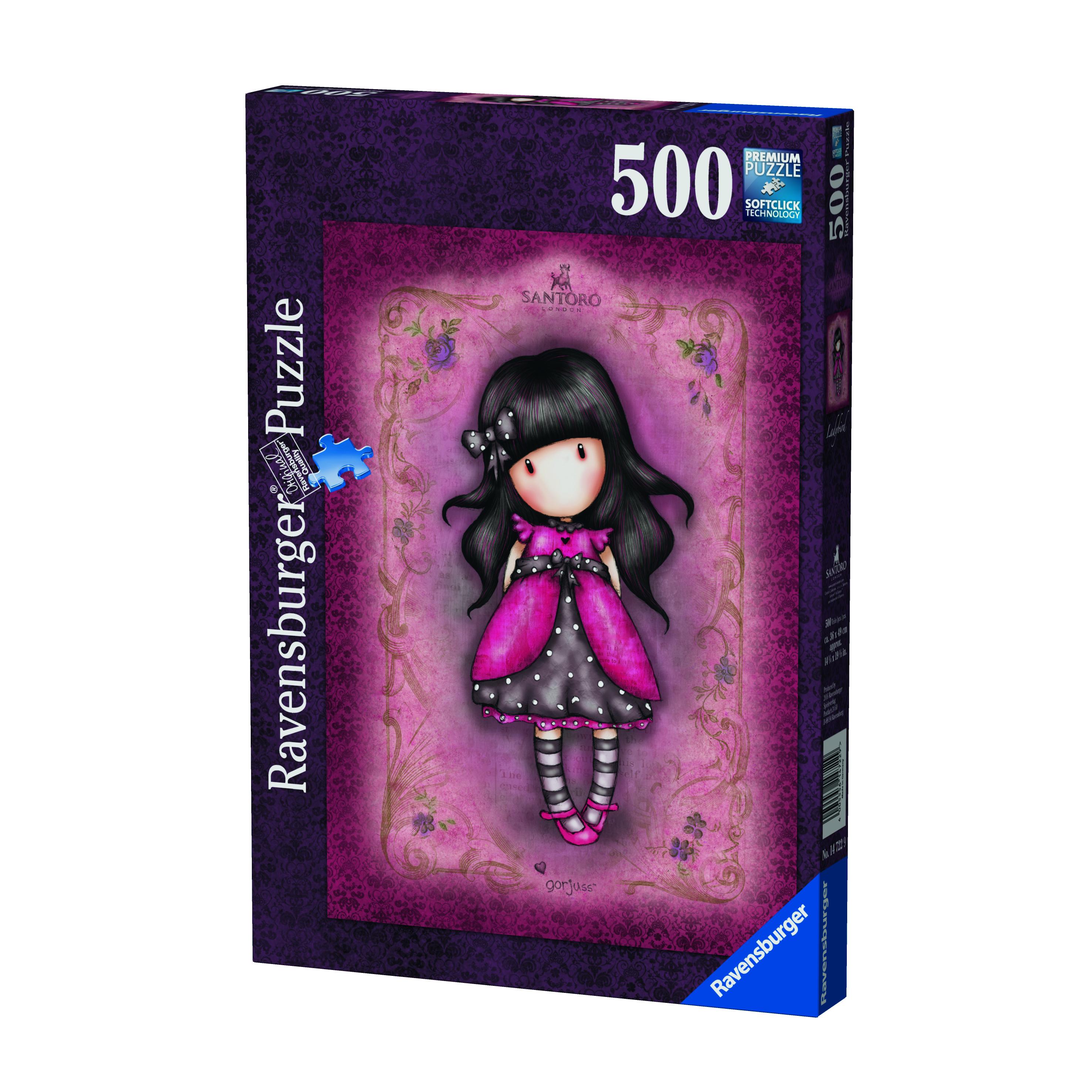 Puzzle 500 pièces - Gorjuss - Ladybird - Ravensburger
