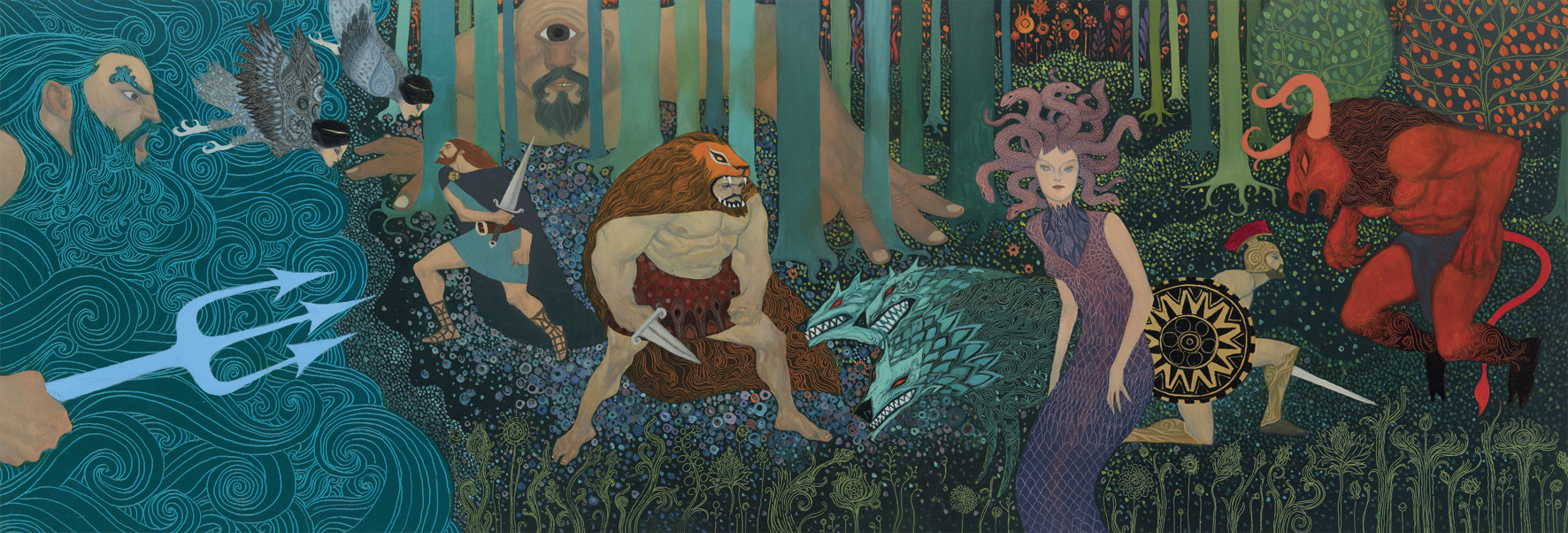 Puzzle Gallery - mythologie - 500 pièces