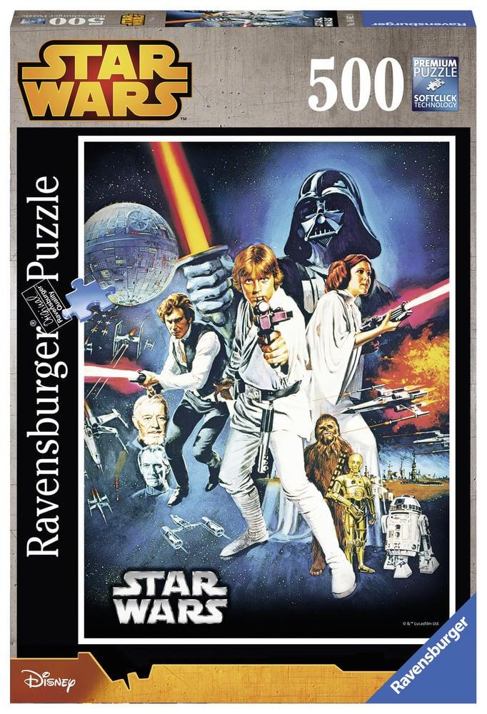 Puzzle 500 pièces - Star Wars - La Guerre des Étoiles - Ravensburger