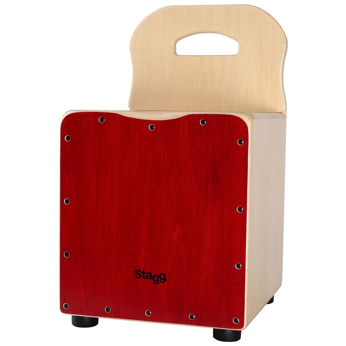 Cajón rouge pour enfant - Stagg