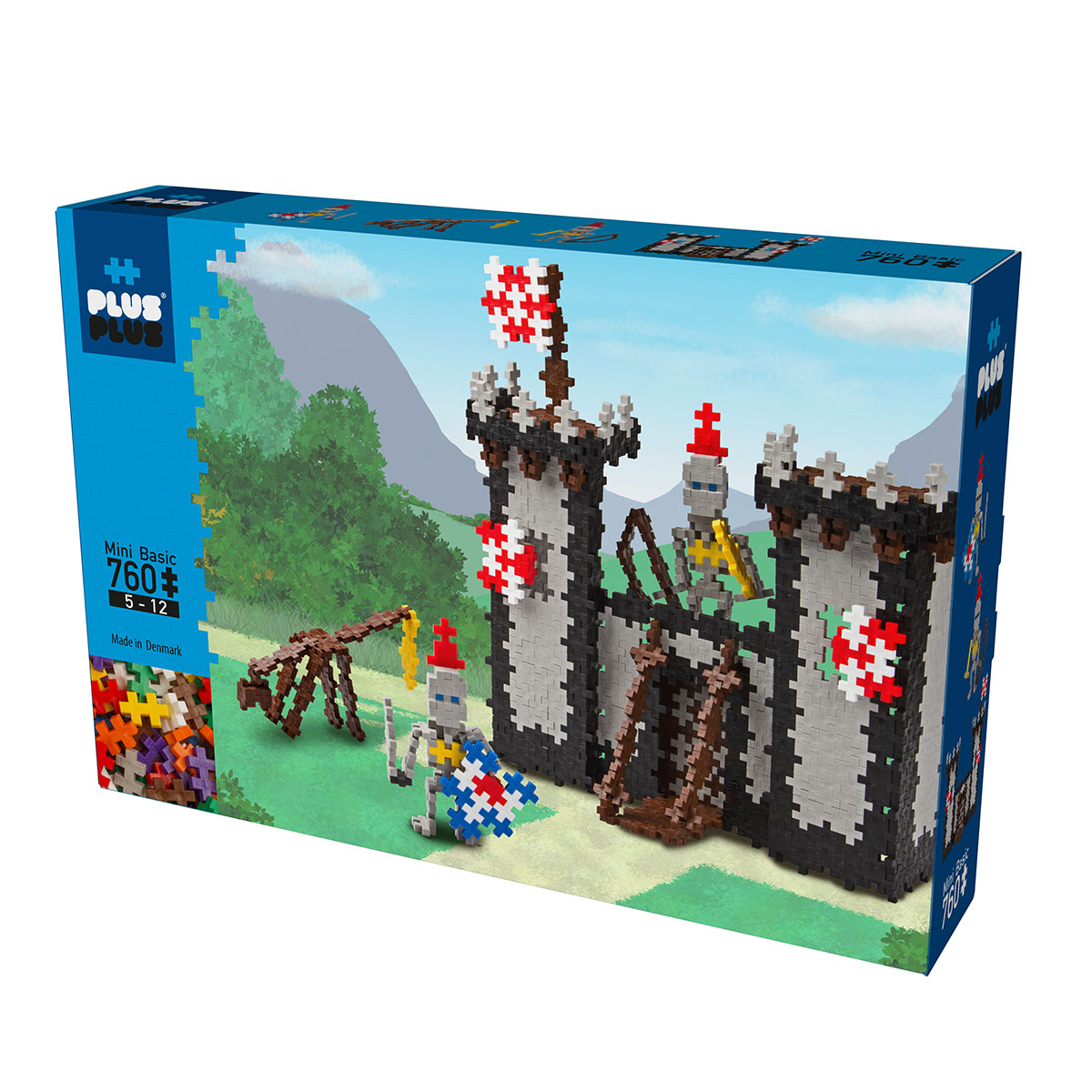 Plus Plus Box mini basic - 760 pièces - château fort