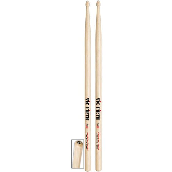 Vic Firth - Baguettes American Classic Hickory Kinetic 5BKF