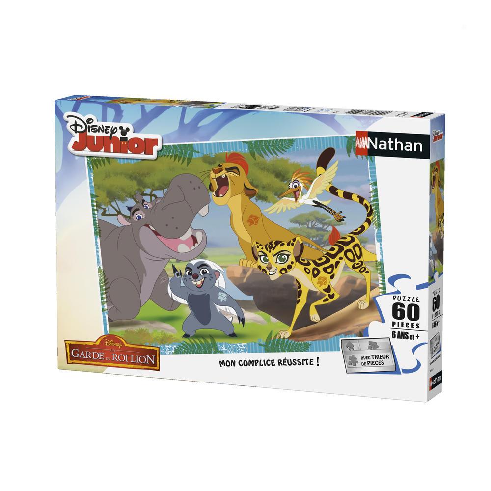 Puzzle 60 pièces - Garde du Roi - Disney - Ravensburger