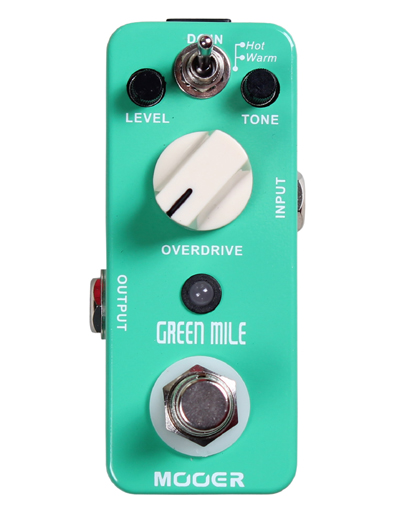 Mooer - Green Mile Overdrive Type TS9