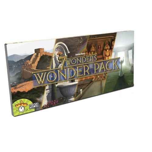 Boite de 7 Wonders - Extension Wonder pack