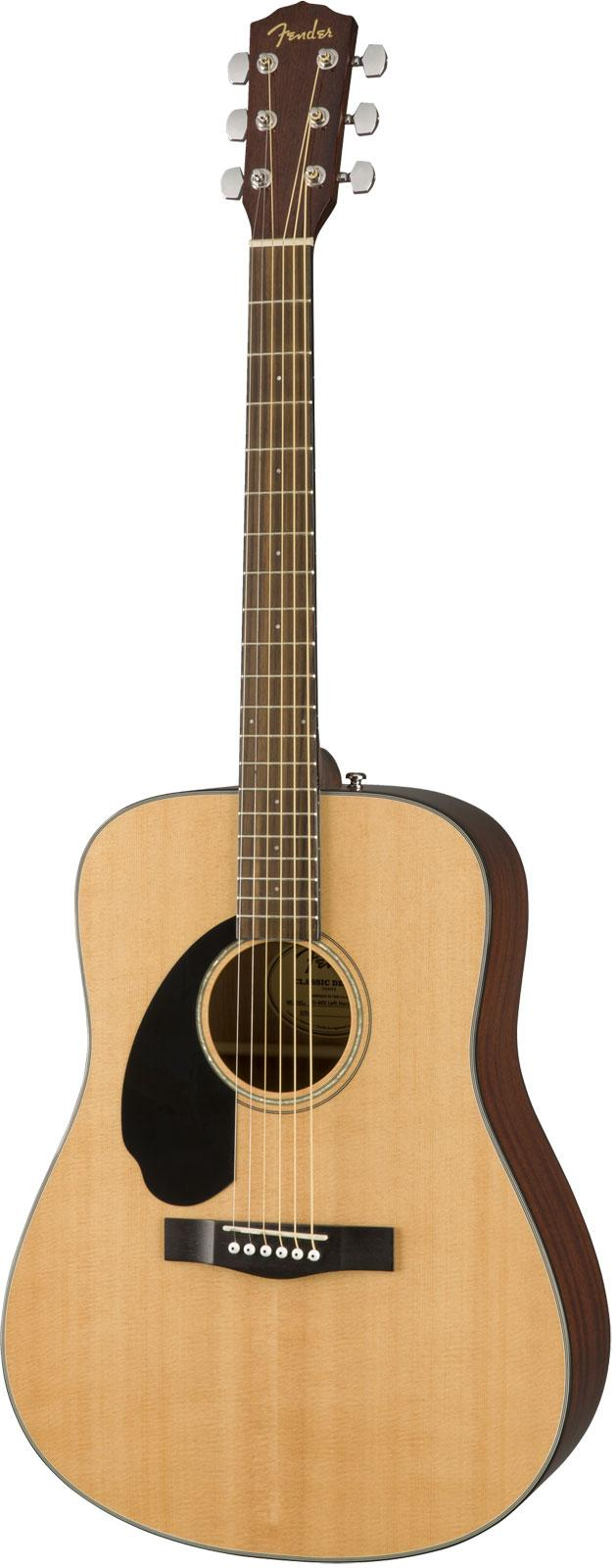 Fender - CD-60S Classic Design Naturelle - gaucher
