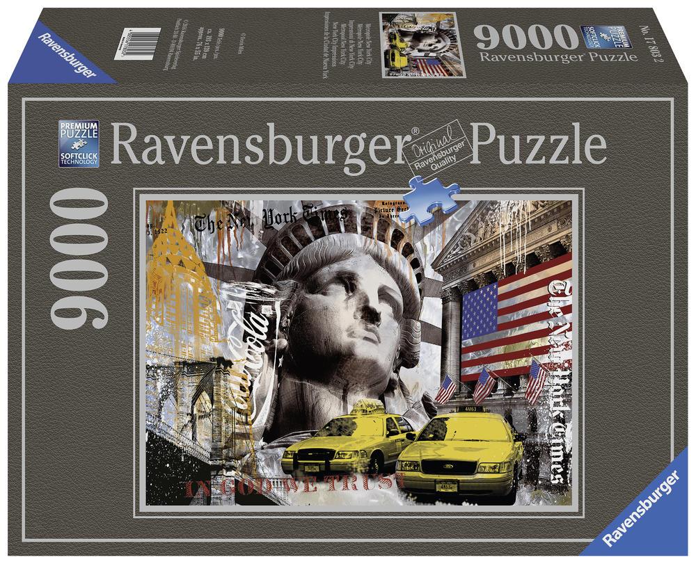 Puzzle - Métropole de New York - 9000 pièces