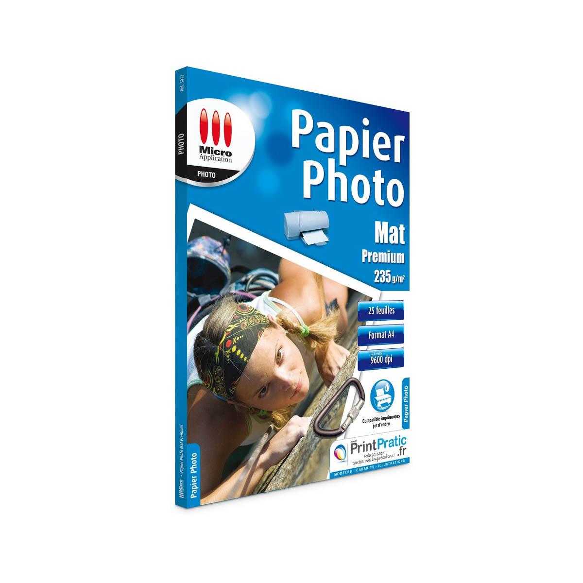 Papier Photo Mat A4