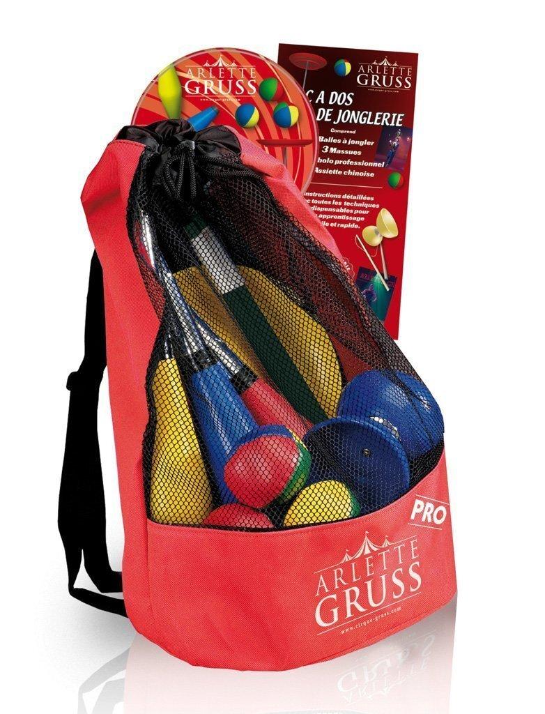 Sac de dos de jonglerie - Arlette Gruss
