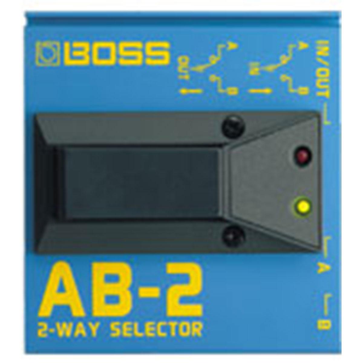 Boss - Sélecteur AB-2 sélecteur 2 voies