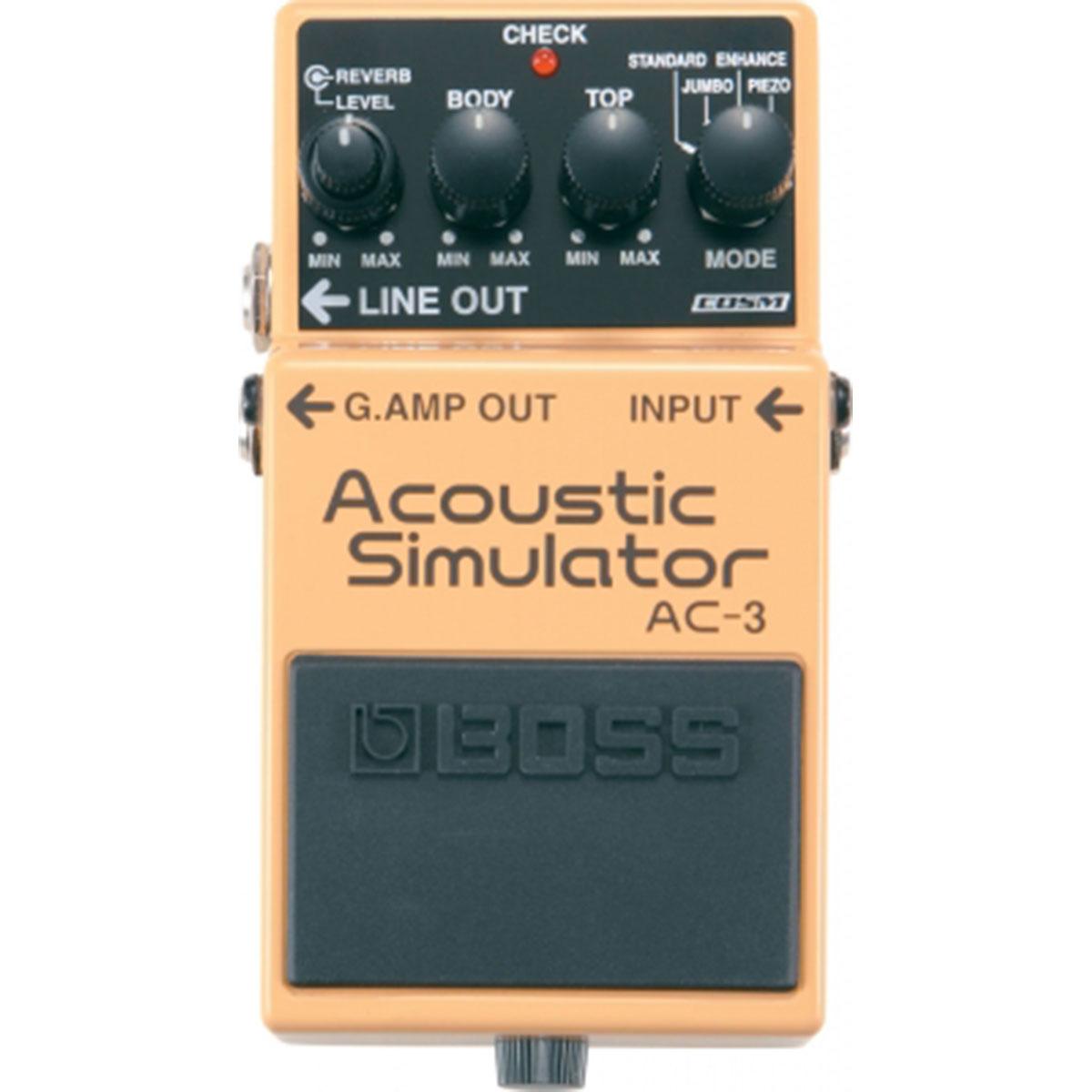 Boss - AC-3 Acoustic Simulator pédale d\'effet