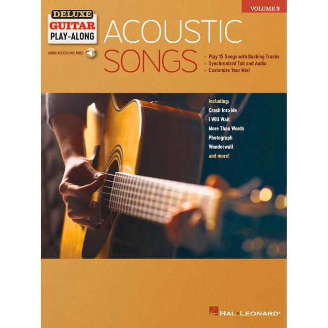 Partitions de guitare - Morceaux acoustiques - Deluxe Guitar Play-Along