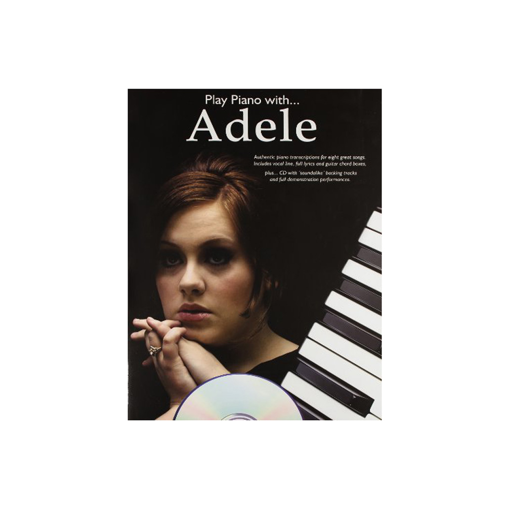 Play piano with Adele