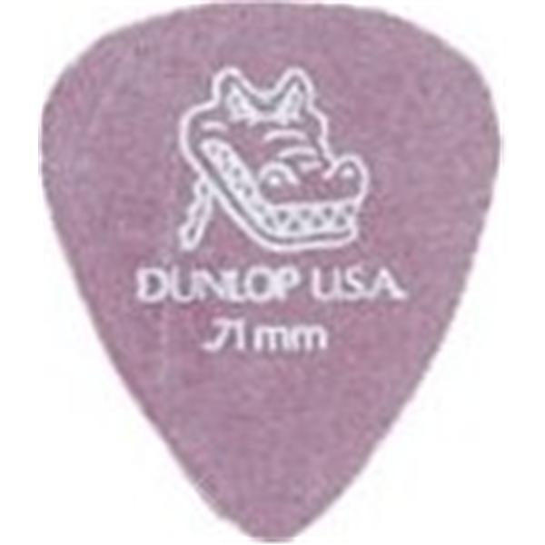 Dunlop - Lot de 12 Médiators Gator Grip 0.71mm - ADU 417P71