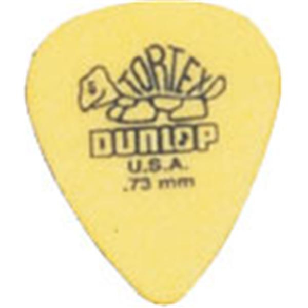 Dunlop - Lot de 12 Médiators Tortex 0.73mm - ADU 418P73