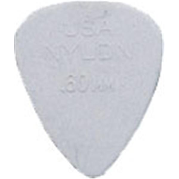 Dunlop - Lot de 12 Médiators Nylon 0.60mm - ADU 44P60