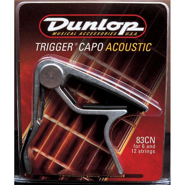 Dunlop - Capodastre Trigger Incurv Nickel - ADU83CDN