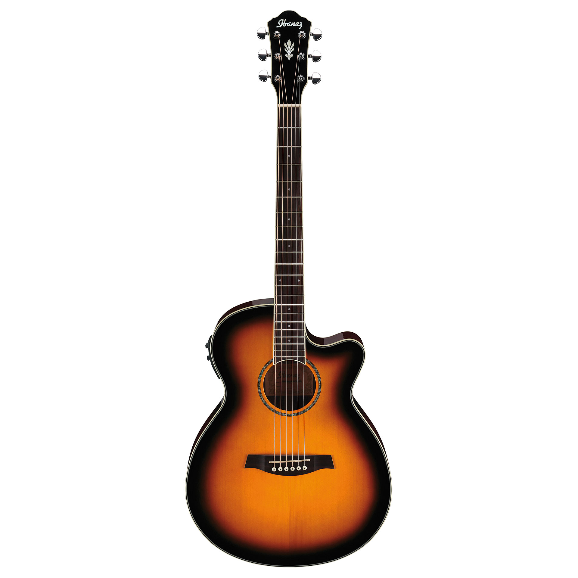 Ibanez  - AEG10II-VS Sunburst Guitare électro-acoustique