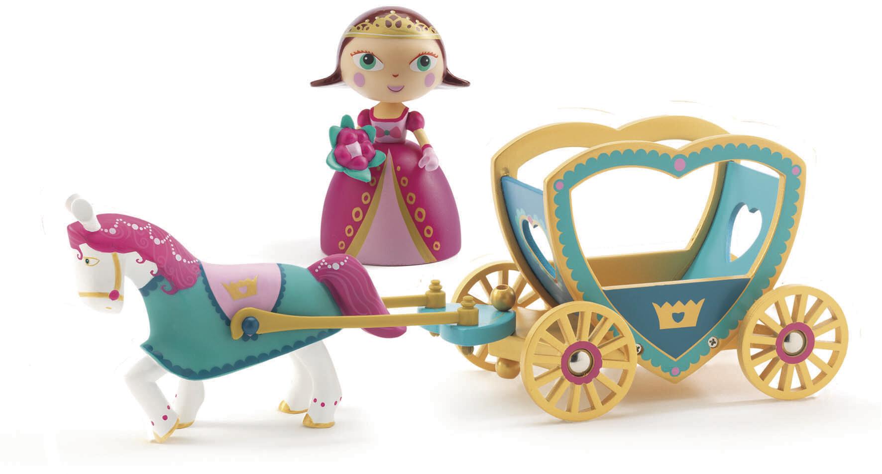Figurine  - Alycia et Ze Calèche