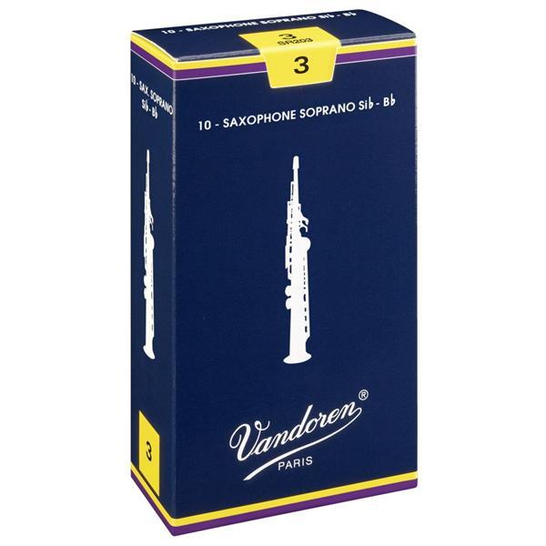 Anches Saxophone soprano taille 2 Traditionnelles - Vandoren