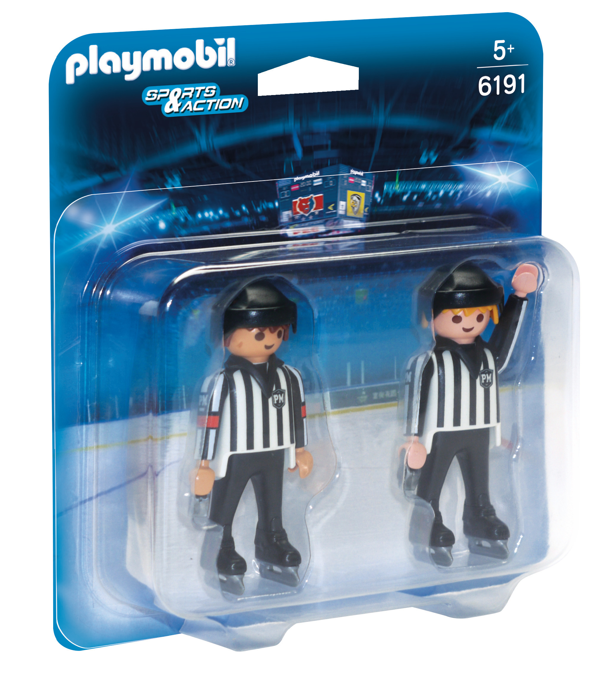 Arbitres de hockey - Playmobil - 6191