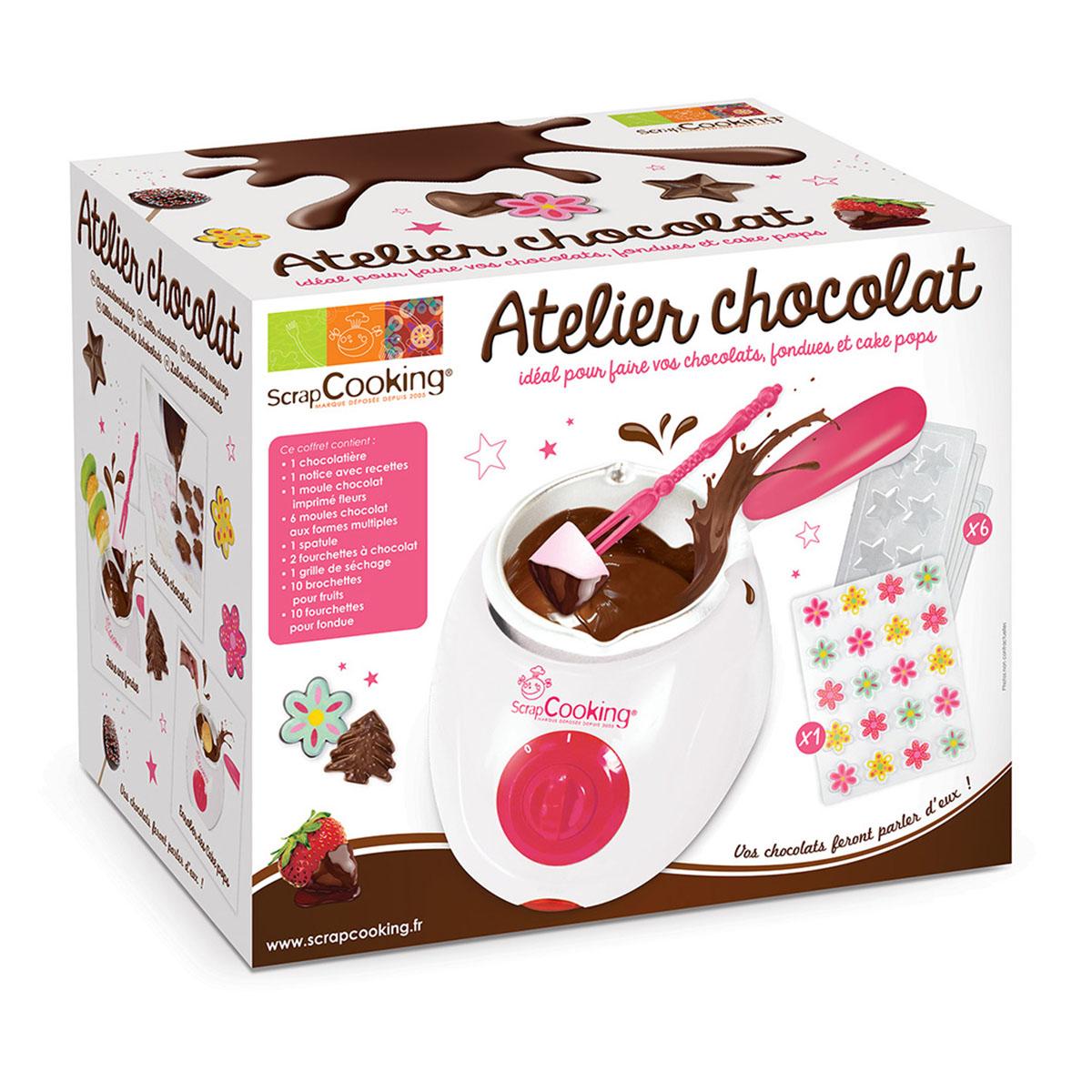 Image du produit Kit l'atelier chocolat - Scrapcooking