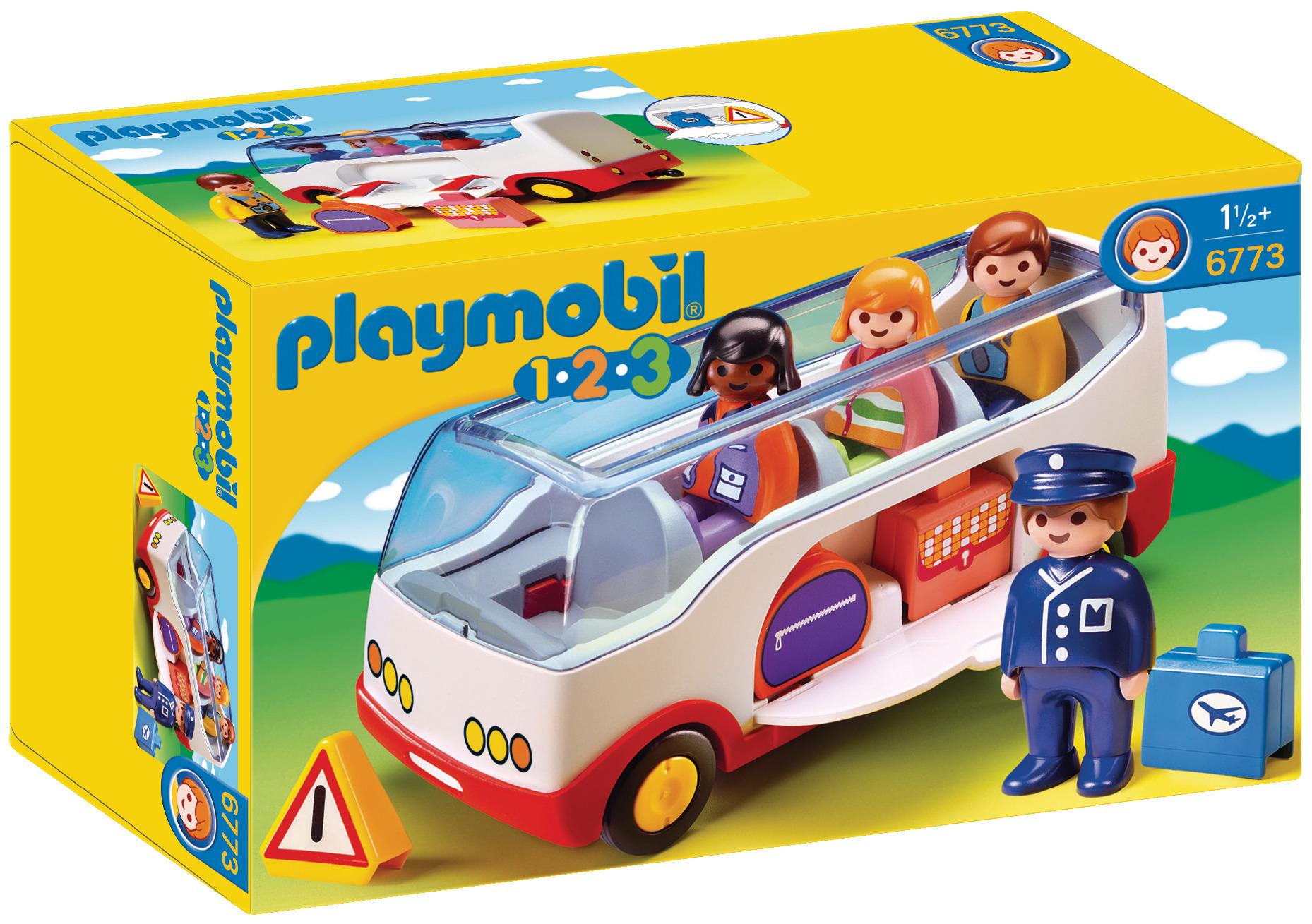Autocar de voyage - Playmobil 1.2.3 - 6773