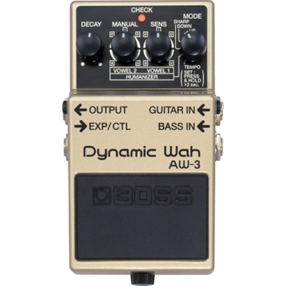 Boss - AW-3 Dynamic Wah Pédale d\'effet