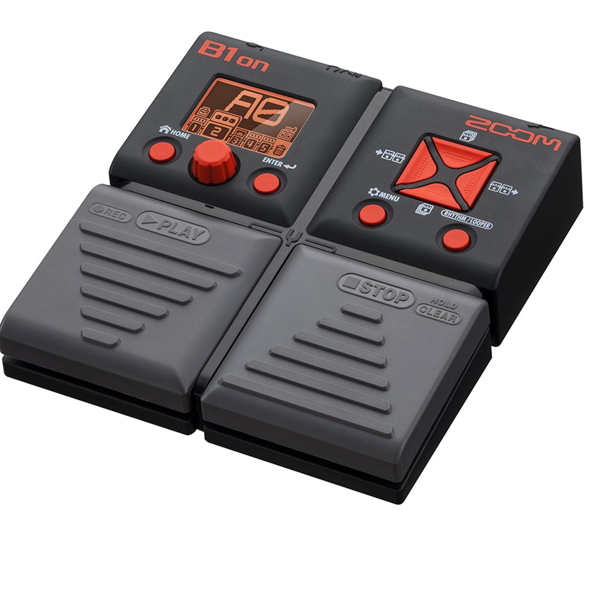 Zoom - B1ON Pédale mult-ieffet pour basse électrique