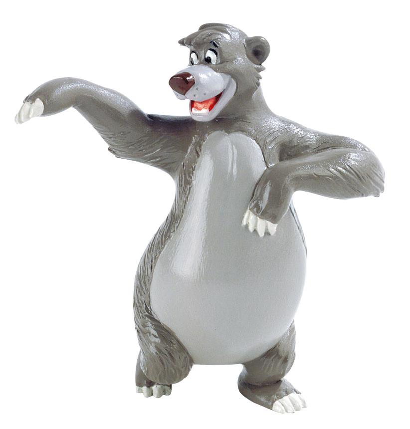 Figurine Le Livre De La Jungle Disney - Baloo - 8 cm