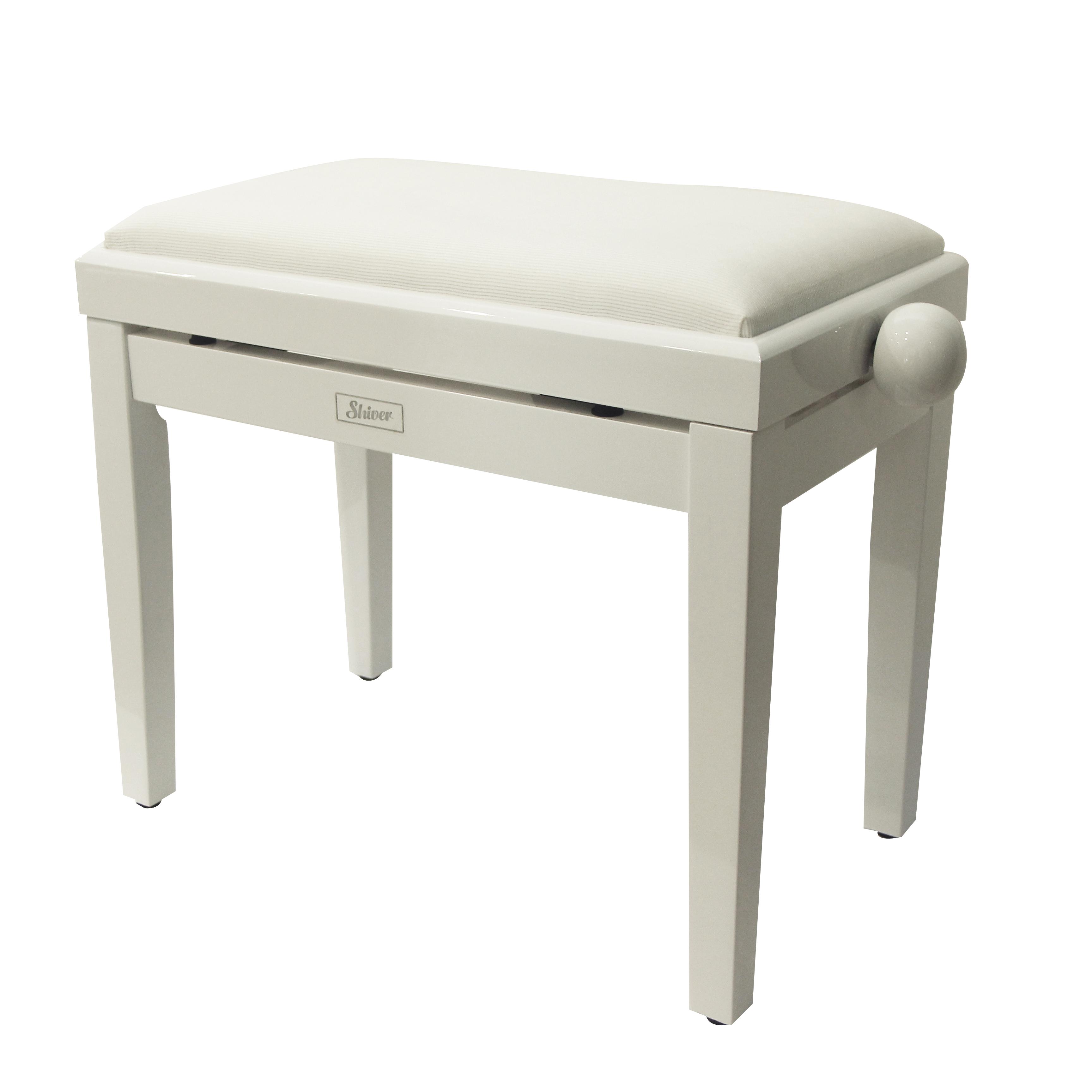 Shiver - Banquette piano Blanc brillant