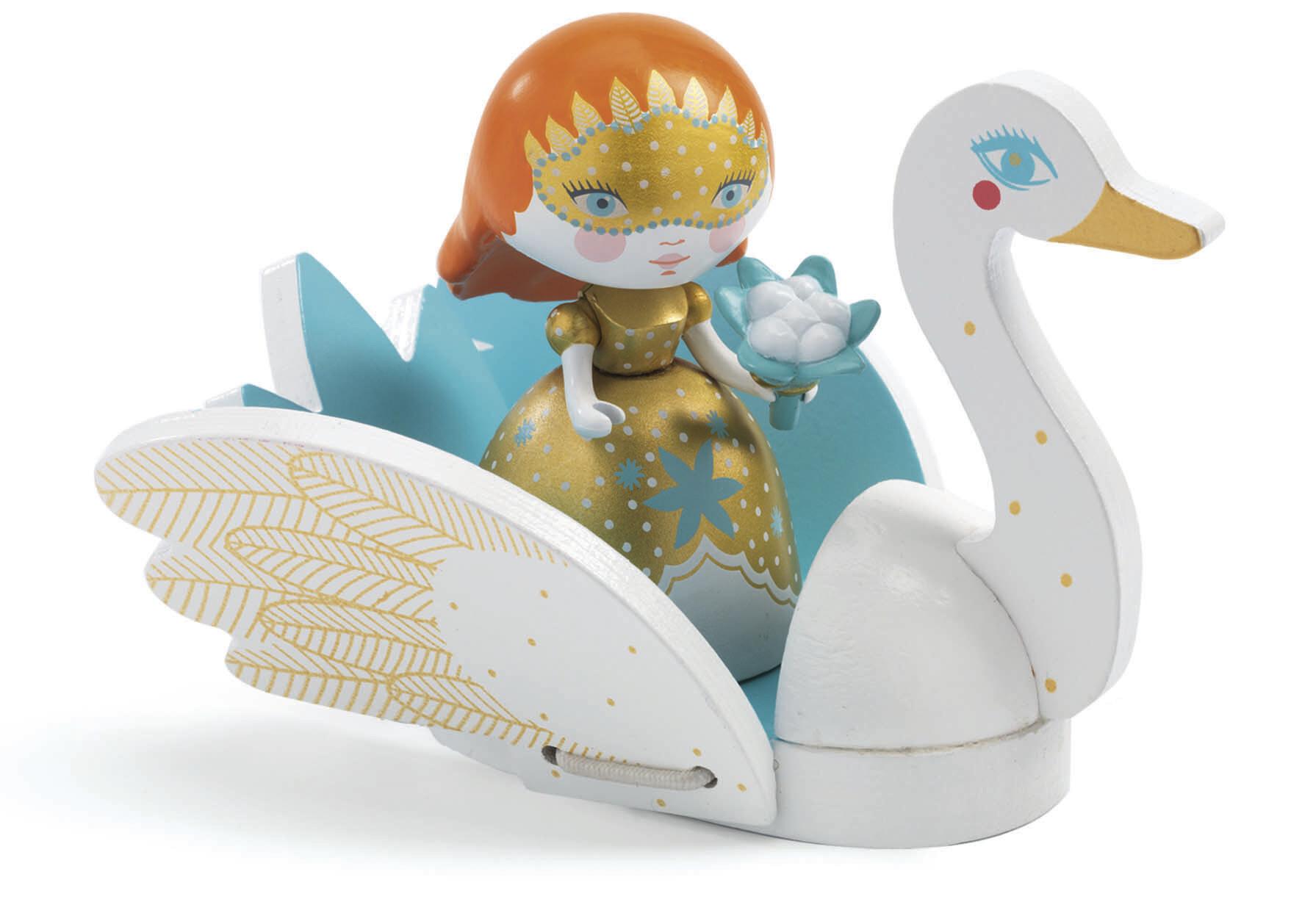 Figurine  - Barbara et Ze Swan