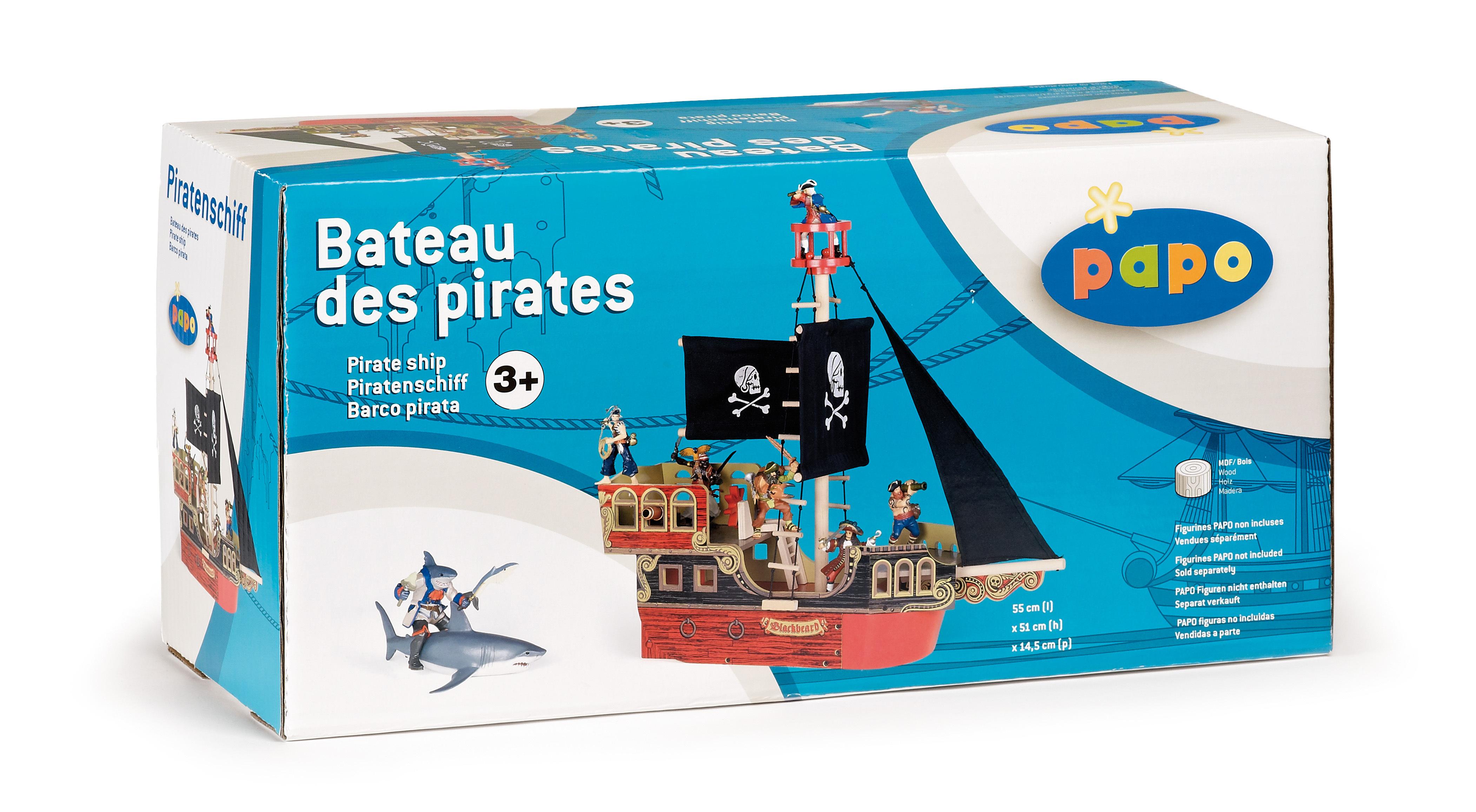 Bateau des pirates - PAPO - 60250