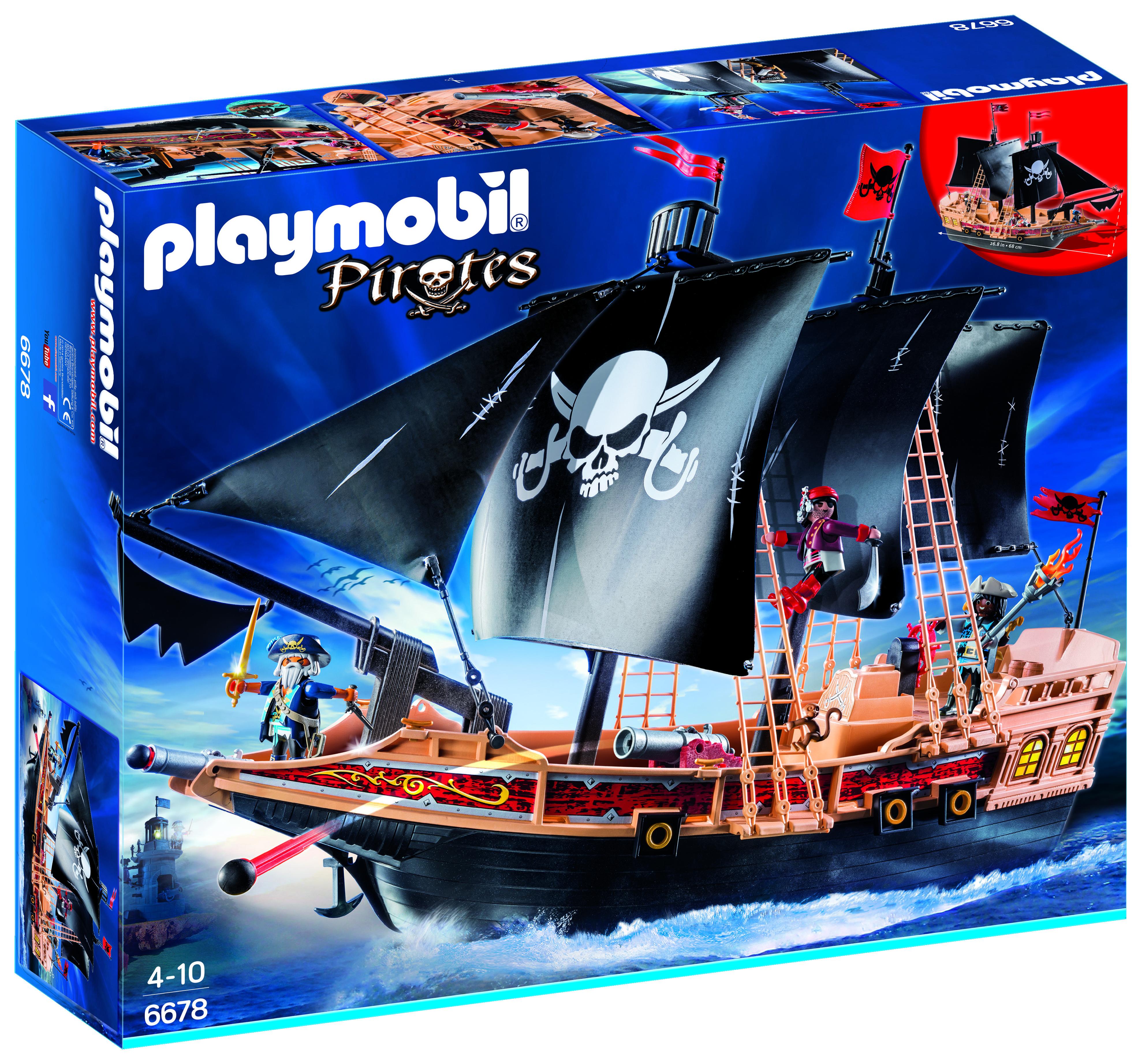 Bateau pirates des ténèbres - Playmobil - 6678