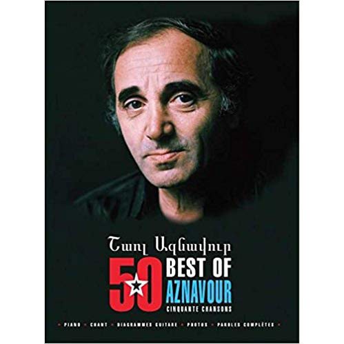 Songbook best of 50 chansons Charles Aznavour