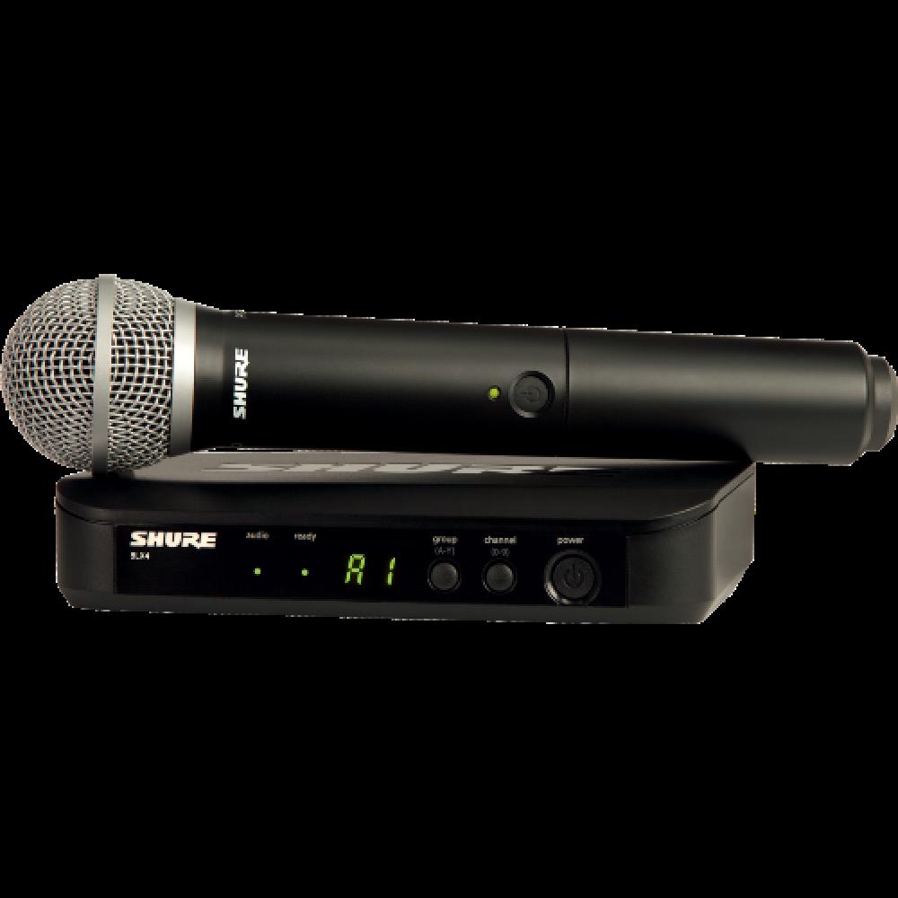 Shure - BLX24E-PG58-M17 Système de transmission sans fil
