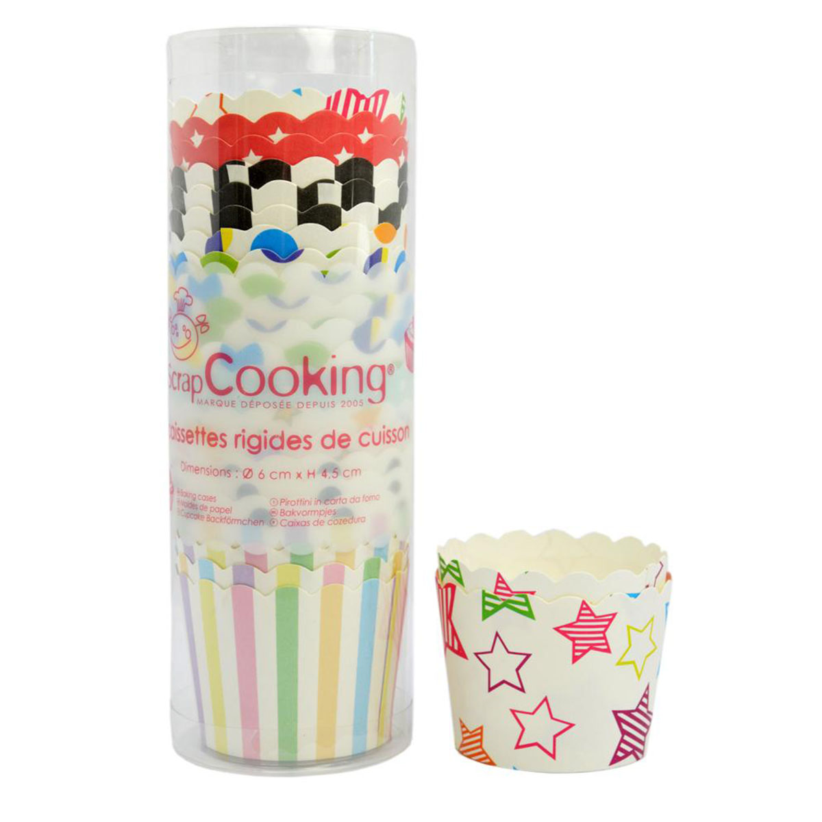 Image du produit 25 caissettes rigides de cuisson - Scrapcooking