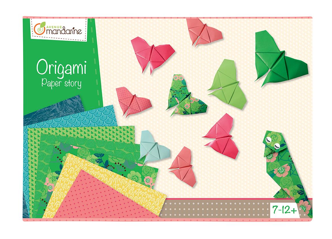 Boîte créative Origami - Avenue Mandarine