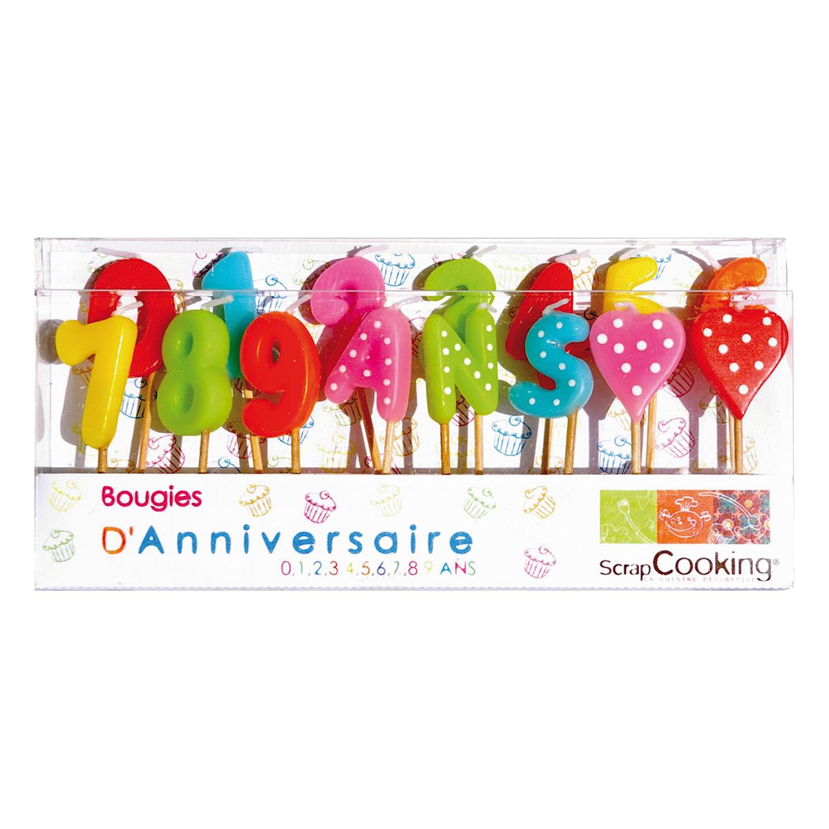 Image du produit 15 bougies - 1.2.3 ans - Scrapcooking