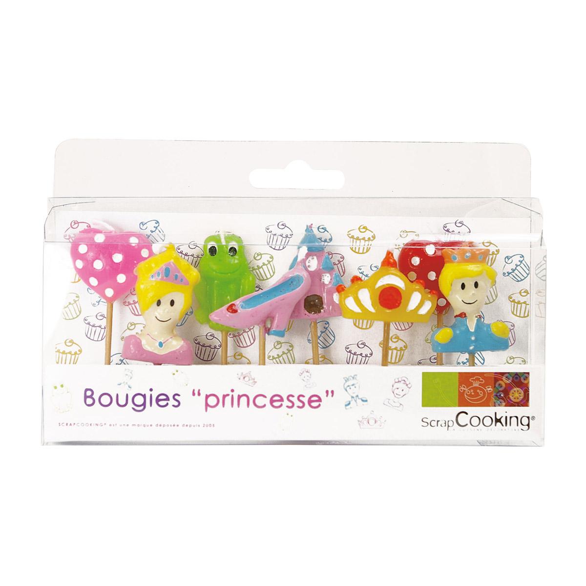 Image du produit 8 bougies princesse - Scrapcooking