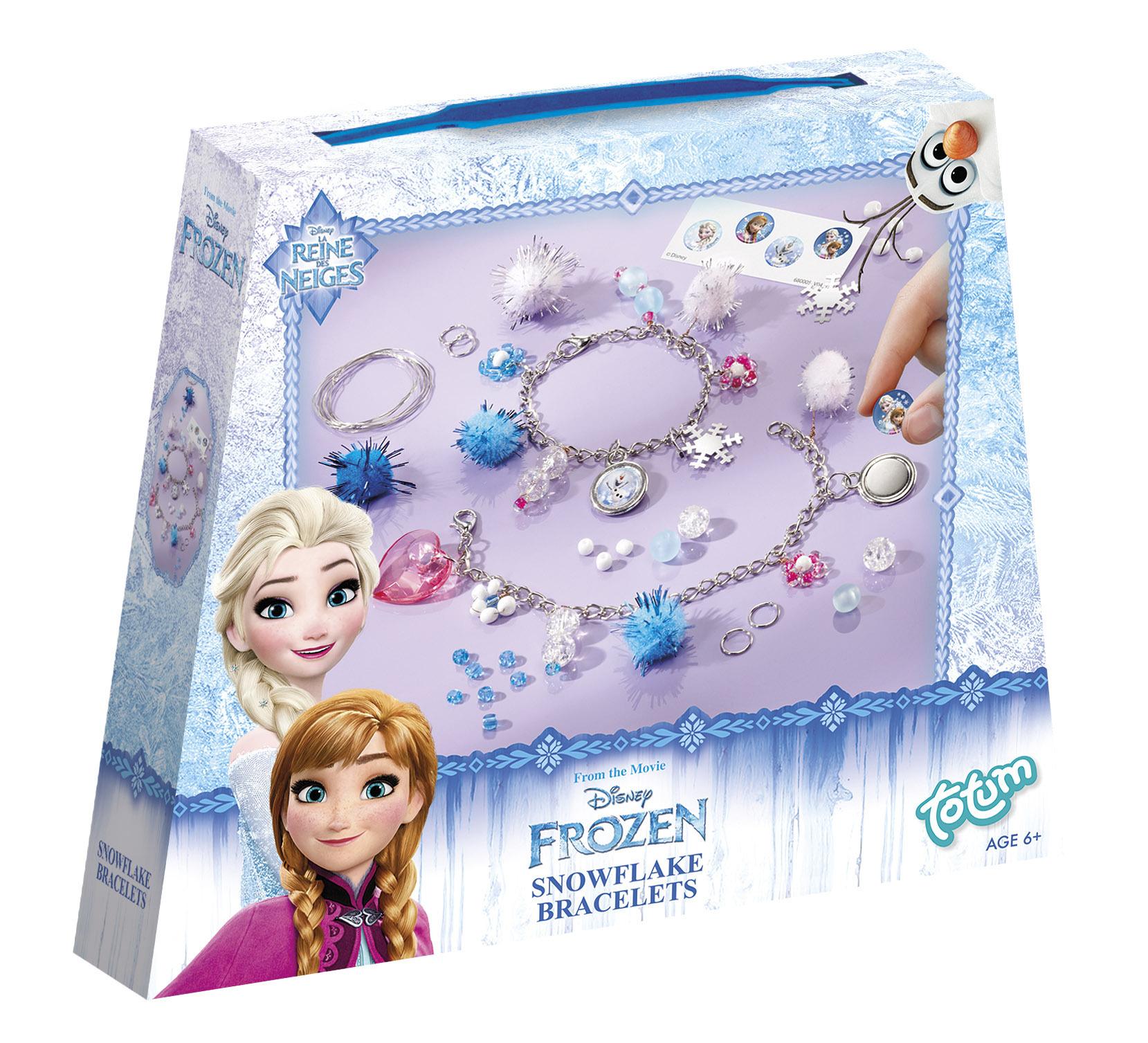 Kit créatif bracelets Charms - La Reine des Neiges