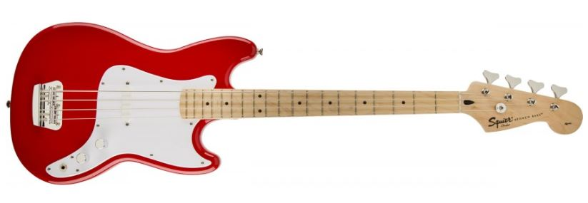 Squier - Basse Bronco Torino Red