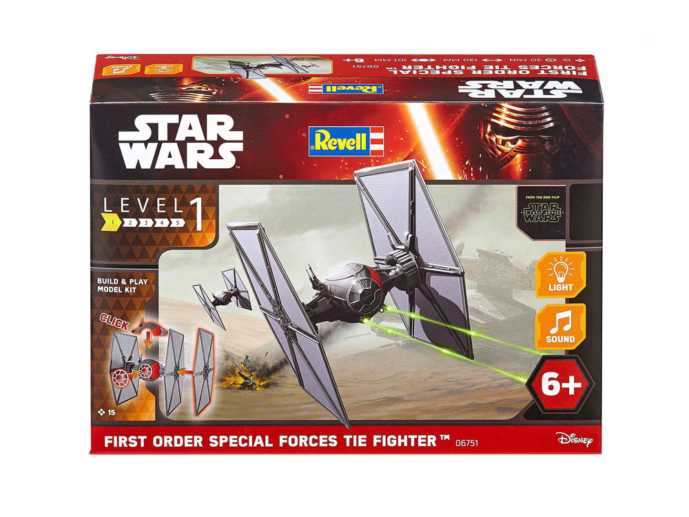Maquette Build and Play - Star Wars - First Order Special Forces «Tie Fighter»