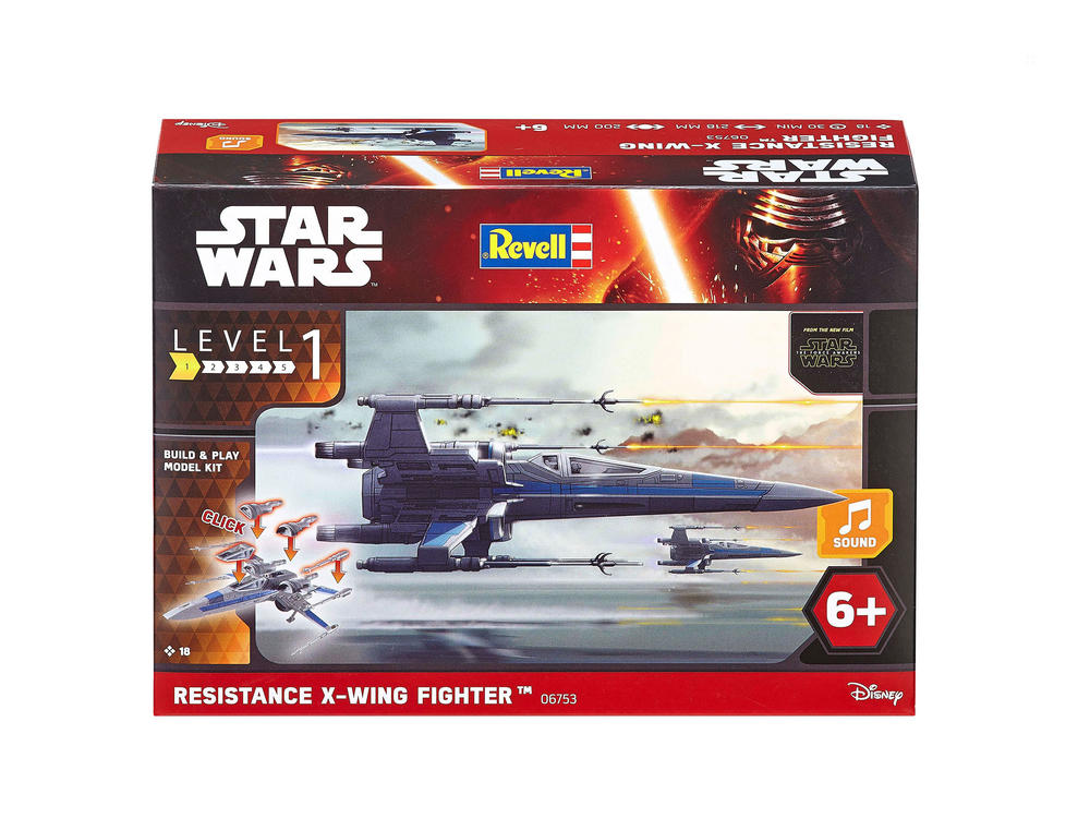 Maquette Build and Play - Star Wars - X-Wing Fighter